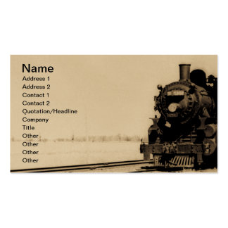Grand Trunk Western Engine No. 5042 Business Cards