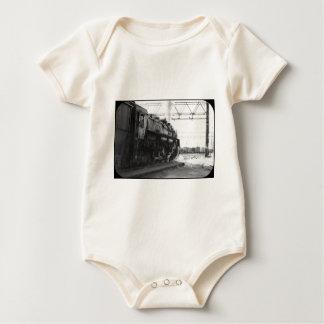 Grand Trunk Western (G.T.W.) Engine 6328 Baby Bodysuit