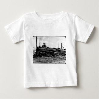 Grand Trunk Western (G.T.W.) Steam Engine #6323 Baby T-Shirt