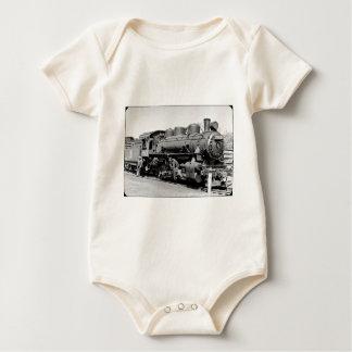 Grand Trunk Western (G.T.W.) steam engine #7524 Baby Bodysuit