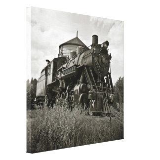 Grand Trunk Western Locomotive #18 Canvas Print