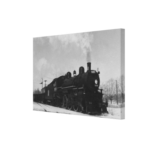 Grand Trunk Western Locomotive 5038 Stretched Canvas Print