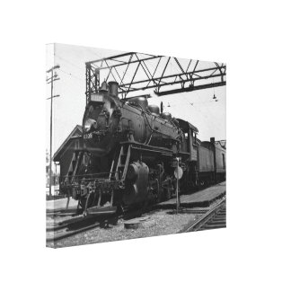 Grand Trunk Western Locomotive 8305 Canvas Print