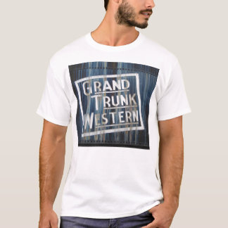 Grand Trunk Western Railroad Locomotive Engine T-Shirt