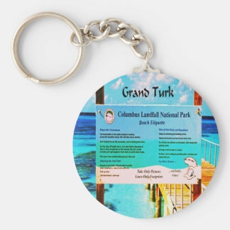 Grand Turk Keychain