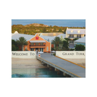 Grand Turk, Turks and Caicos, Hi def photography Canvas Print