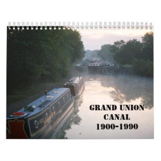 Grand Union Canal 2016 Calendar