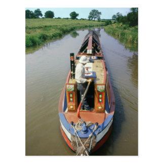 Grand Union Canal England Postcard
