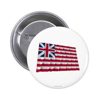 Grand Union flag Pinback Button