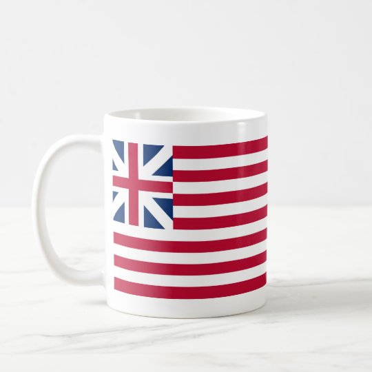 Grand Union Flag Continental Colors Coffee Mug