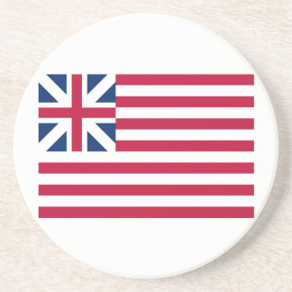 Grand Union Flag Continental Colors Drink Coaster
