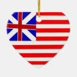 Grand Union Flag Ornaments