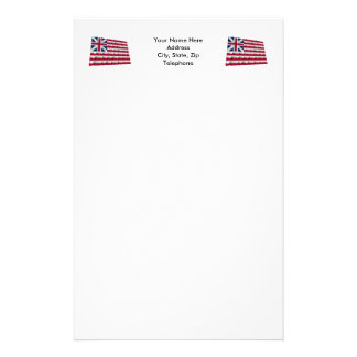 Grand Union flag Stationery