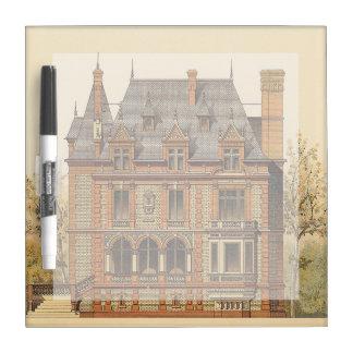 Grand Victorian Estate Dry Erase Whiteboard