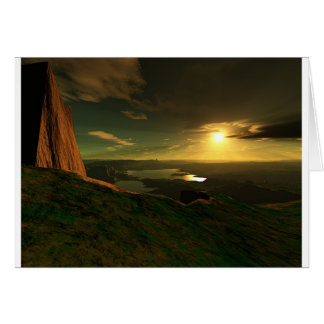 Grand View Canyon-C Greeting Card