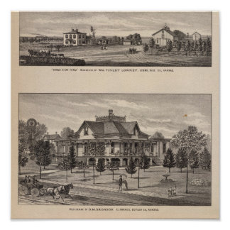 Grand View Farm, Kansas Posters