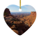 Grand View Point at Canyonlands National Park Ceramic Ornament
