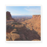 Grand View Point at Canyonlands National Park Paper Napkin