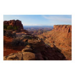 Grand View Point at Canyonlands National Park Poster
