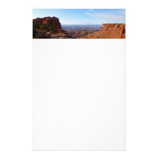 Grand View Point at Canyonlands National Park Stationery