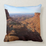 Grand View Point at Canyonlands National Park Throw Pillow
