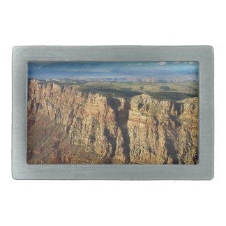 Grand View Point Grand Canyon National Park Rectangular Belt Buckle