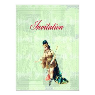 Grand Woman Warrior - Vintage Illustration Card