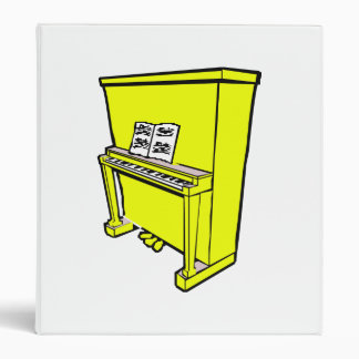 grand yellow upright piano with music.png binder