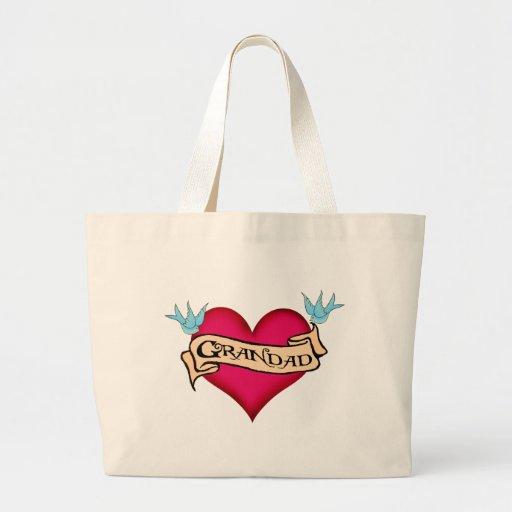 Grandad - camisetas y regalos de encargo del tatua bolsas