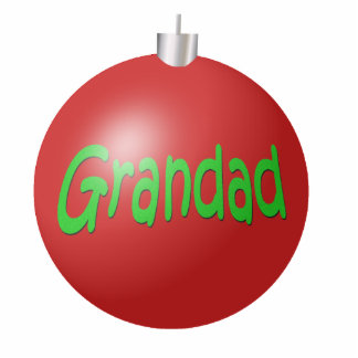 Grandad Christmas Ornament
