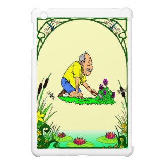 Grandad loves his garden iPad mini covers