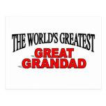 Grandad más grande del mundo el gran tarjetas postales
