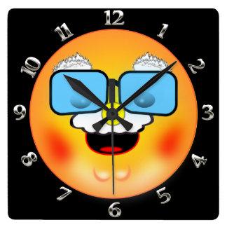 Grandad Smiley Clock