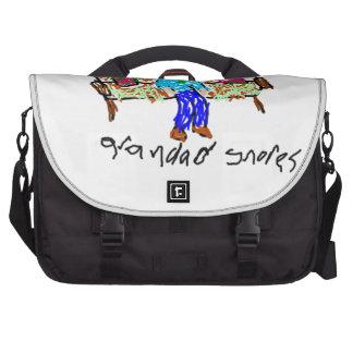 Grandad Snores Commuter Bag