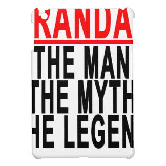 Grandad The Man The Myth The Legend Shirts.png iPad Mini Cases