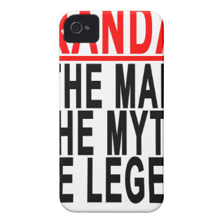 Grandad The Man The Myth The Legend Shirts.png iPhone 4 Cover
