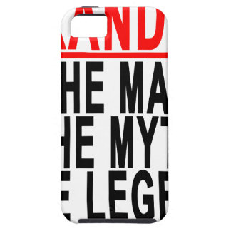 Grandad The Man The Myth The Legend Shirts.png iPhone SE/5/5s Case