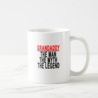 Grandaddy The Man The Myth The Legend Shirts.png Coffee Mug