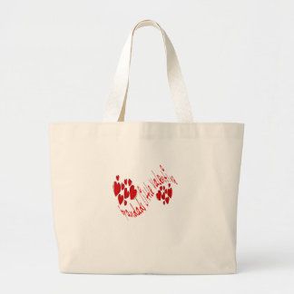 Grandad's Little Valentine Large Tote Bag