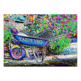 GRANDAD'S WHEELBARROW LARGE BUSINESS CARDS (Pack OF 100)
