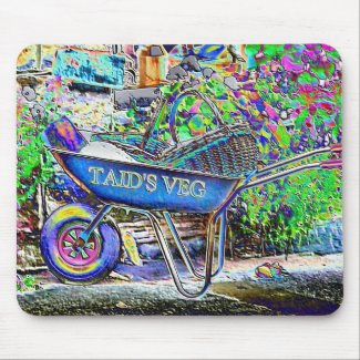GRANDAD'S WHEELBARROW mousepad