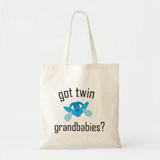 ¿Grandbabies gemelo conseguido? Bolsa Lienzo