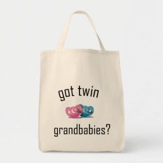 ¿Grandbabies gemelo conseguido? Bolsas Lienzo