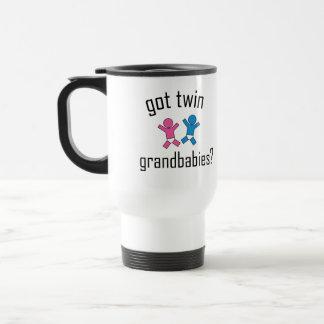 ¿Grandbabies gemelo conseguido? Tazas