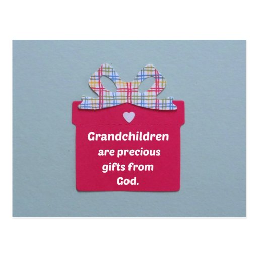 Grandchildren are Precious Gifts from God Postcards