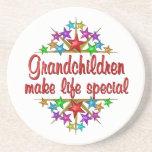 Grandchildren are Special Beverage Coaster