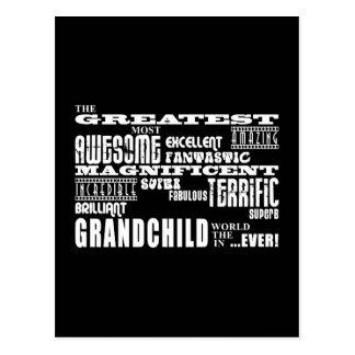 Grandchildren : Greatest Grandchild Postcard