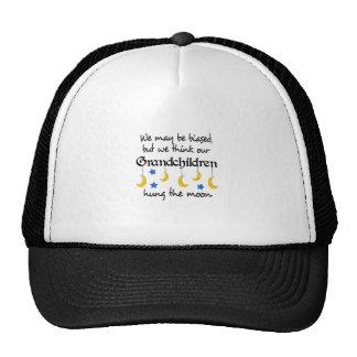 GRANDCHILDREN HUNG THE MOON TRUCKER HAT
