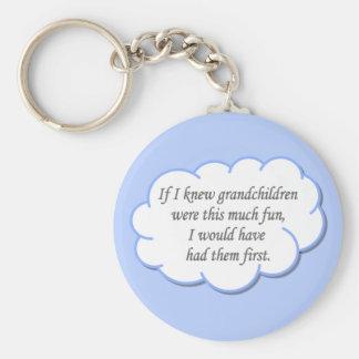Grandchildren keychain