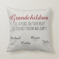 Nursery Decorative Pillows & Poufs<